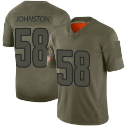 Men's Clay Johnston Los Angeles Rams 2019 Salute to Service Jersey - Camo Limited