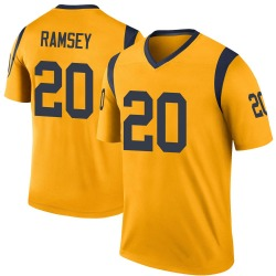 Youth Jalen Ramsey Los Angeles Rams Jalen ey Color Rush Jersey - Gold Legend